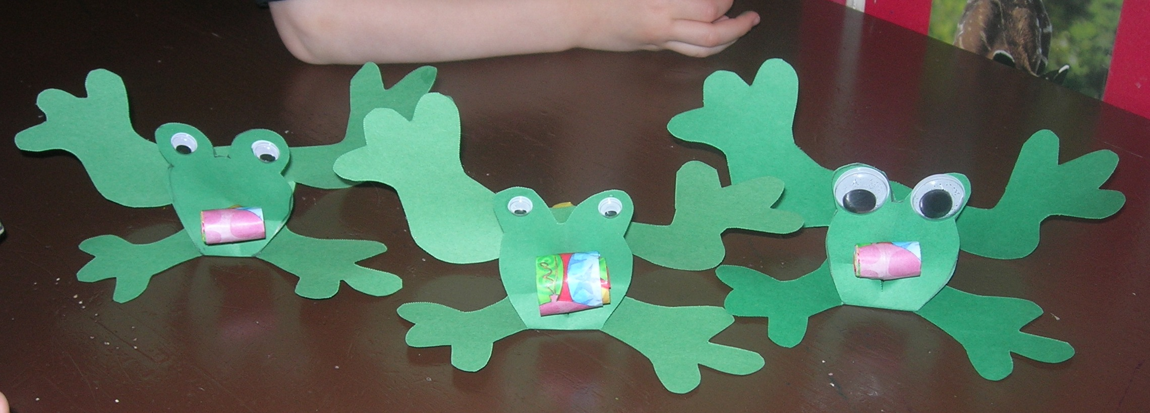 Frog Craft Susans Homeschool Blog