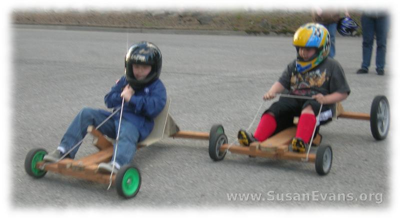 go-carts-race