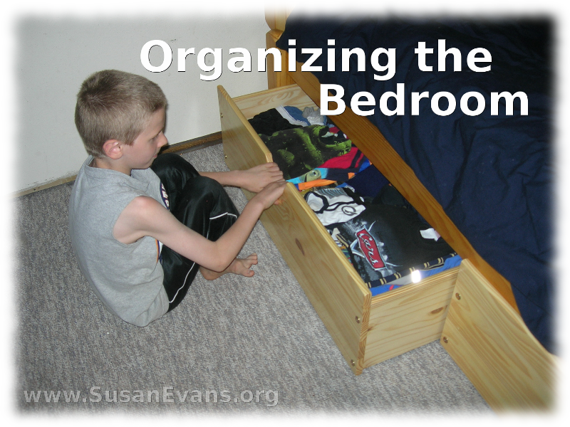 organizing the bedroom susan s homeschool blog susan s Small House Organization Small House Organization