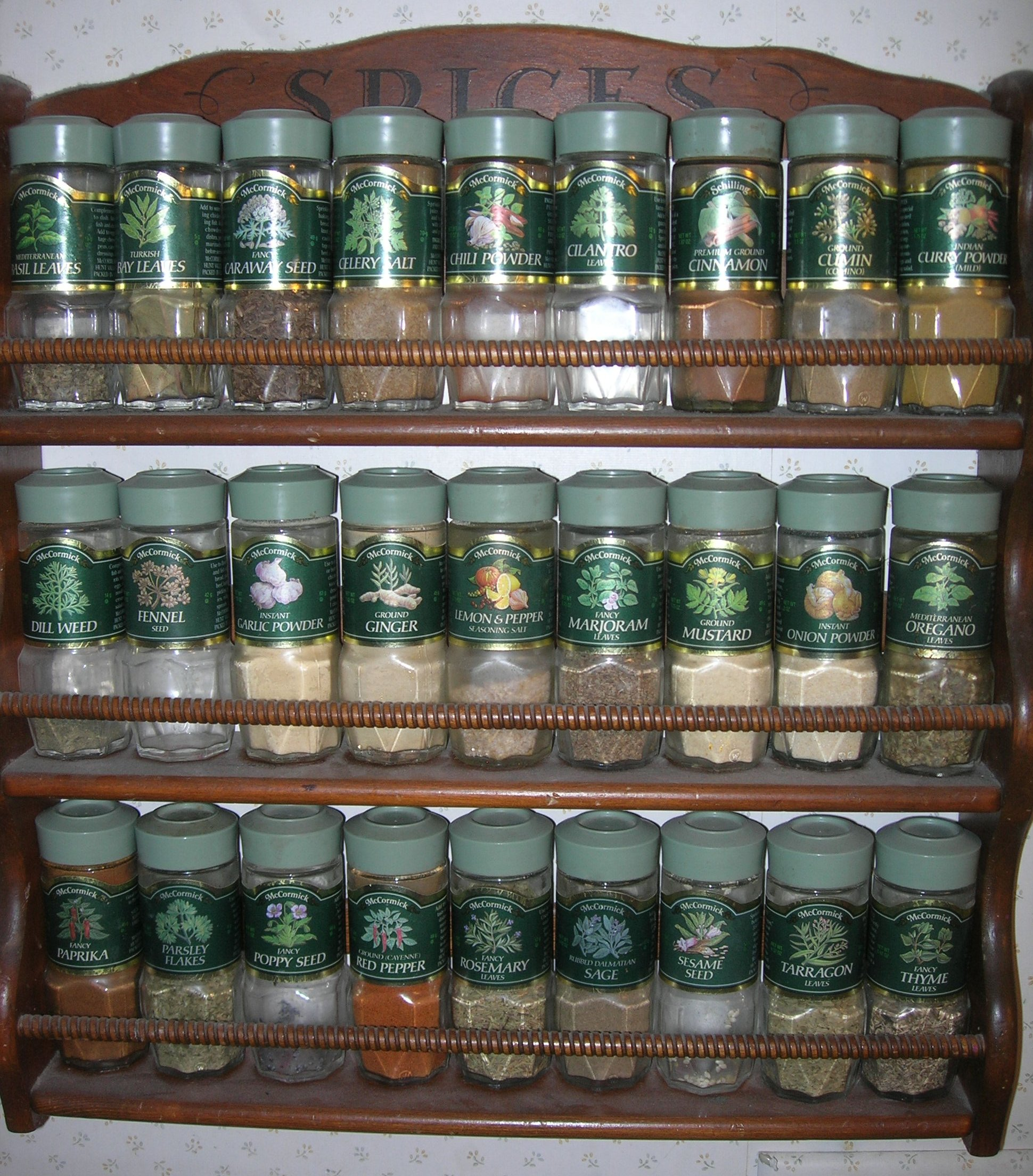 Wall Mount Spice Rack Plans: Spice Rack Plans Free