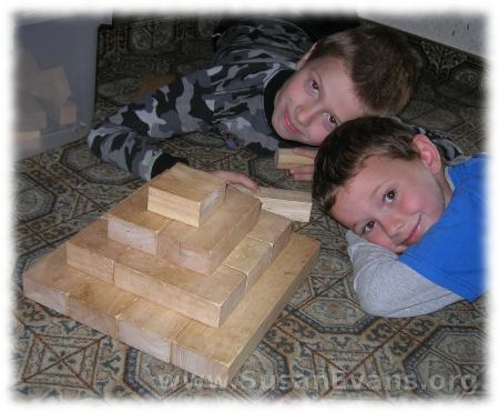 block-pyramids