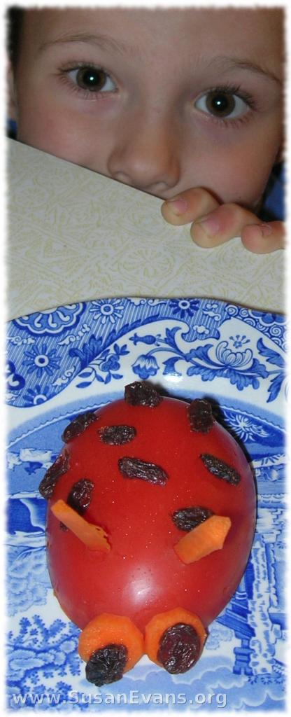 ladybug-tomato