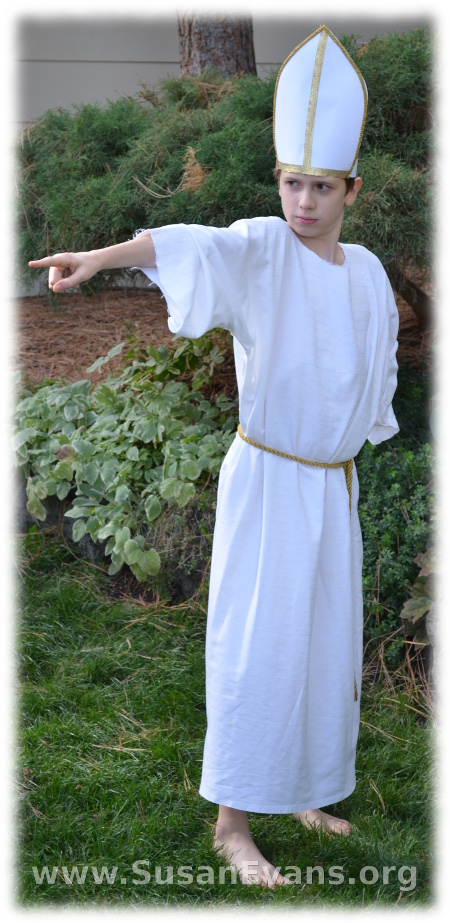 Bible-costume-4 · Bible-costume-5  sc 1 st  Susan Evans & Bible Costume in Five Minutes - Susanu0027s Homeschool Blog Susanu0027s ...