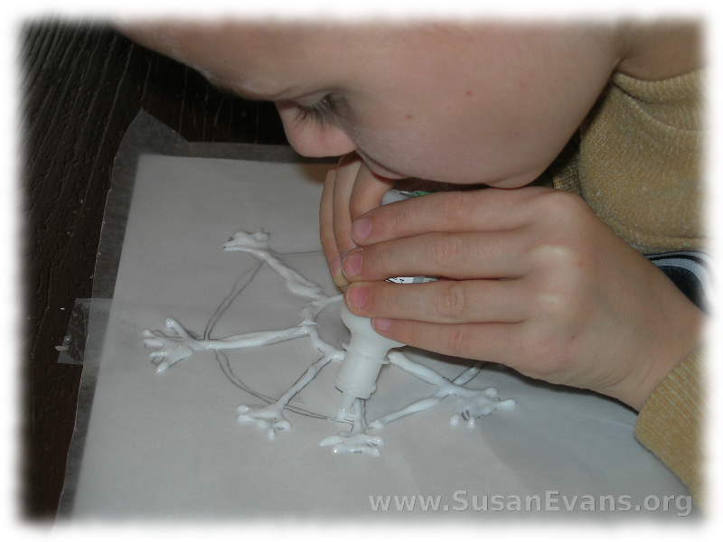 glue-snowflakes