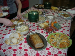 Christmas-tea-party