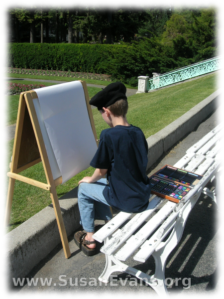 painting-on-an-easel