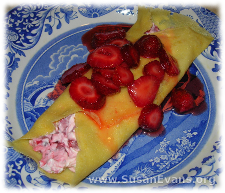 strawberry-crepes