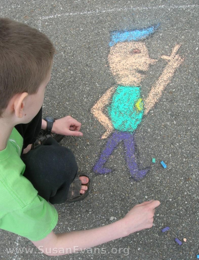 sidewalk-chalk-police