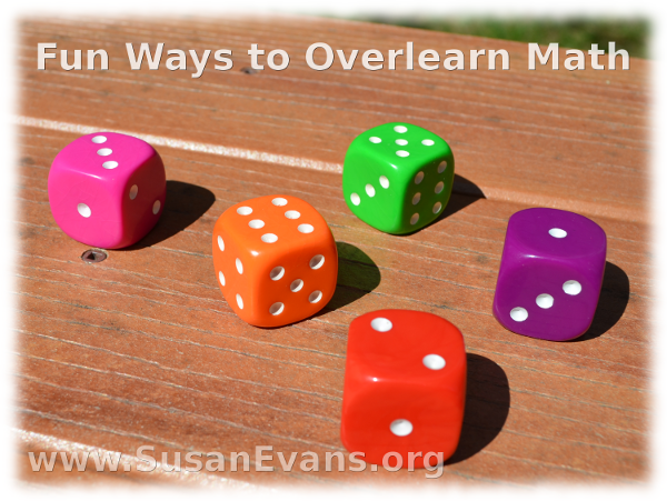 Fun Ways to Overlearn Math
