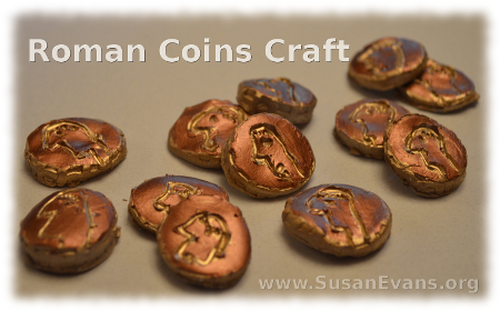 Roman-coins-craft