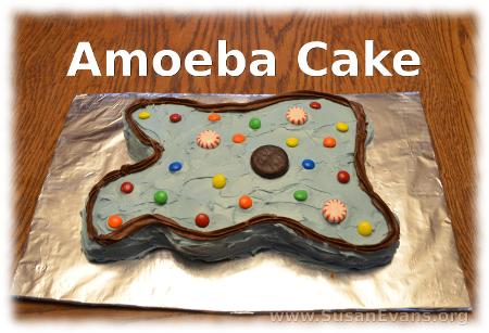 amoeba-cake