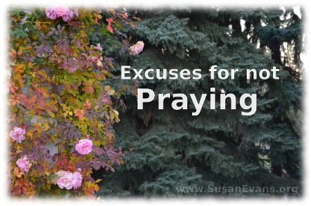 excuses-for-not-praying