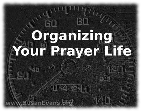 organizing-your-prayer-life
