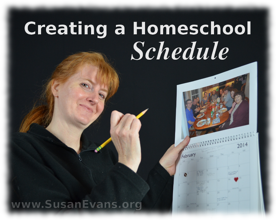 creating-a-homeschool-schedule