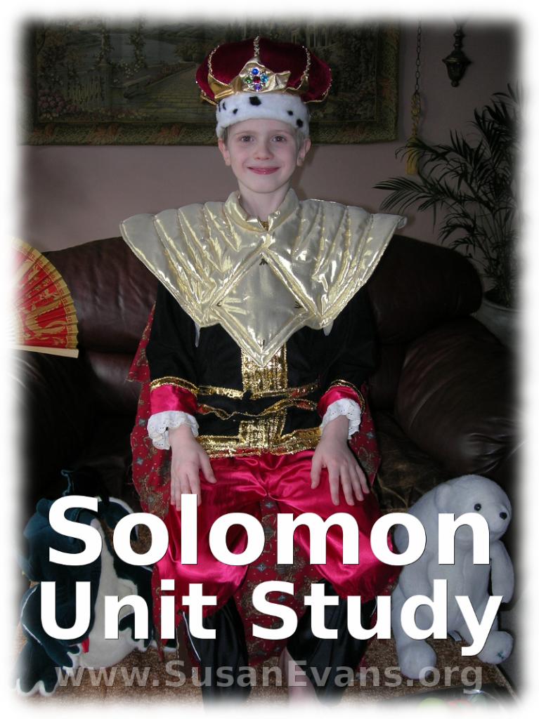 solomon-unit-study