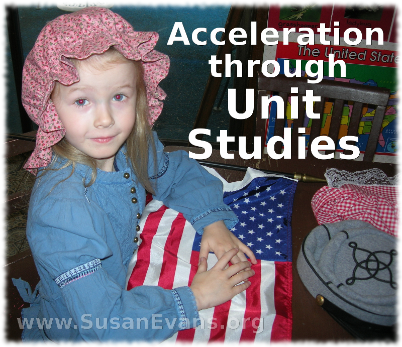 acceleration-through-unit-studies