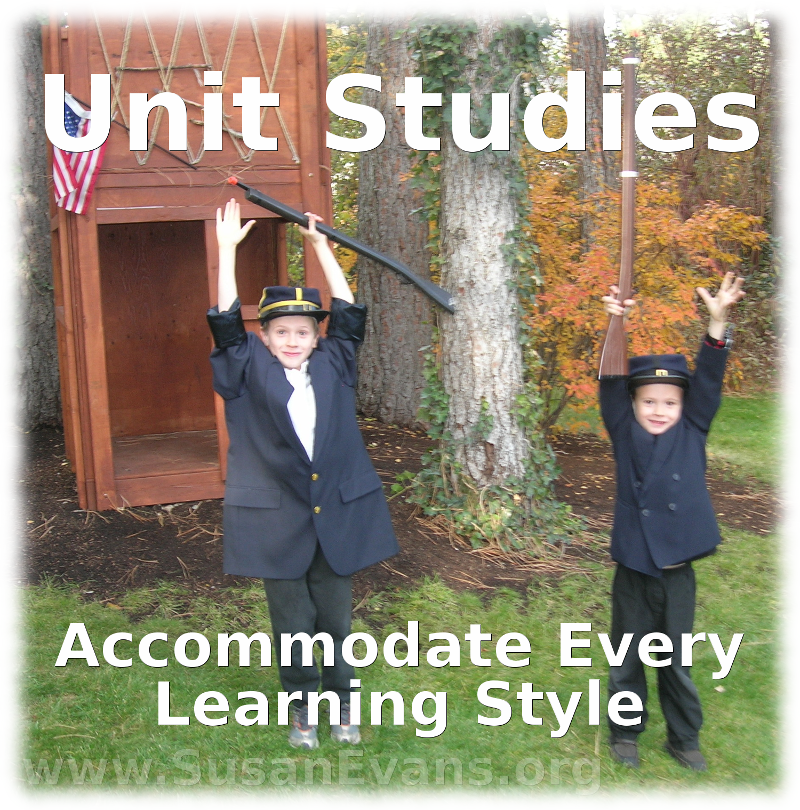 unit-studies-learning-styles