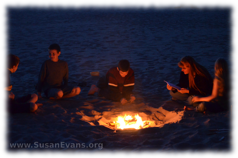 firepit-at-cannon-beach