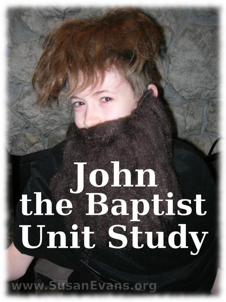john-the-baptist-unit-study