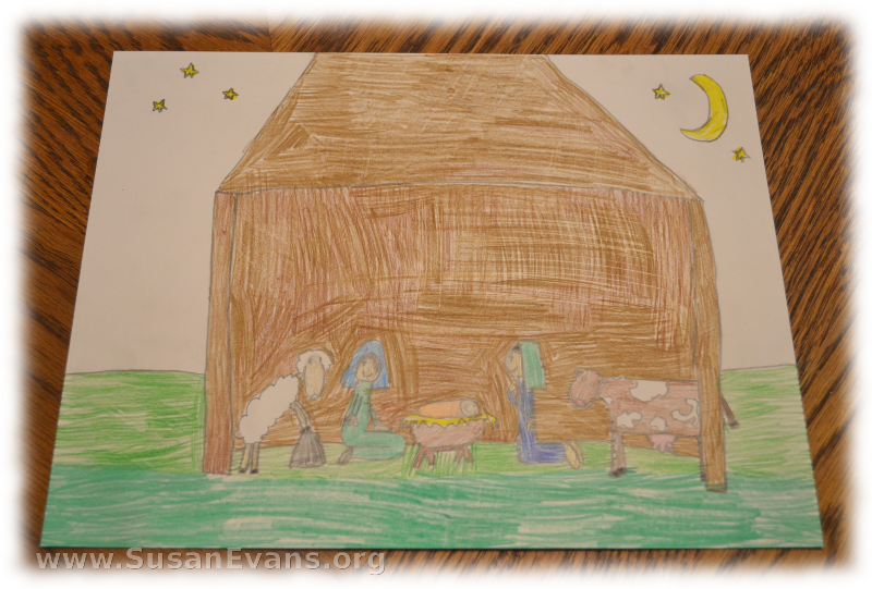 nativity-drawing