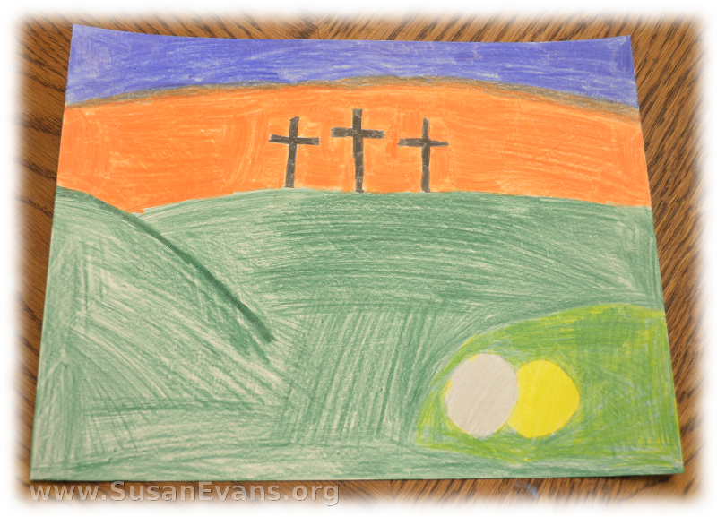 crucifixion-of-Jesus-drawing