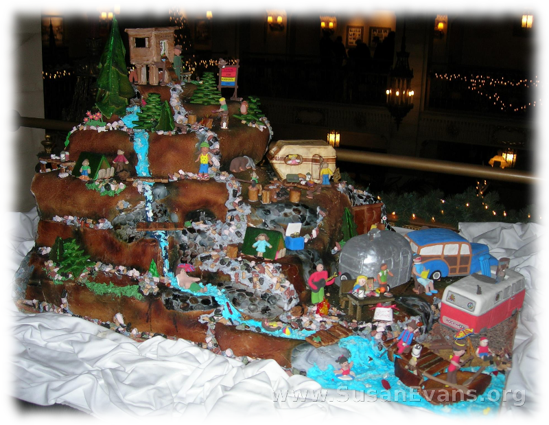 gingerbread-waterfall
