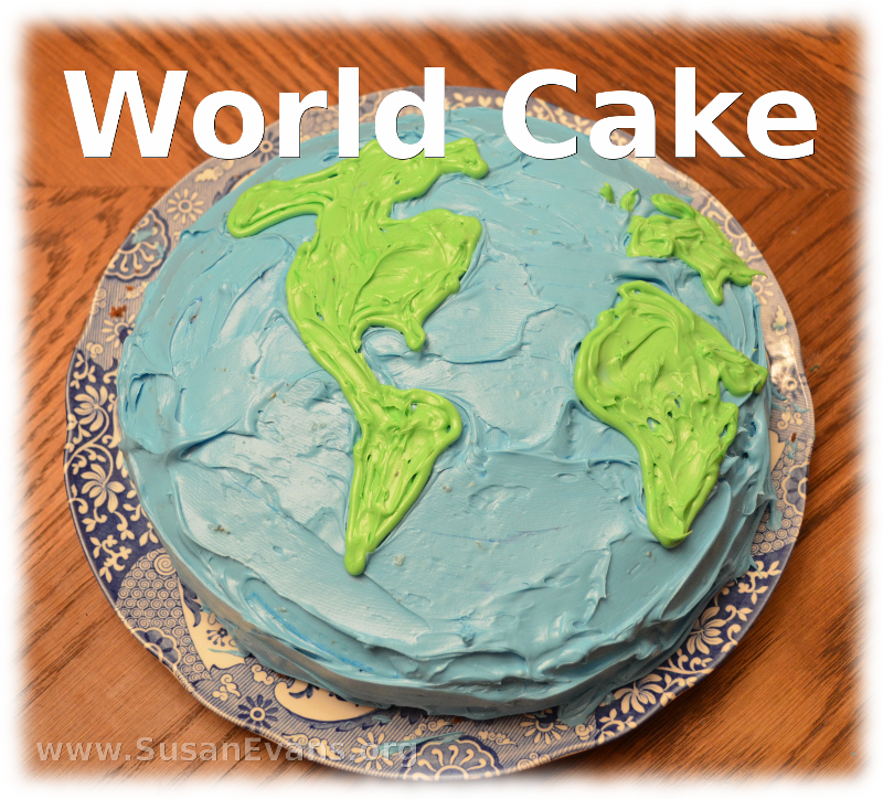 world-cake