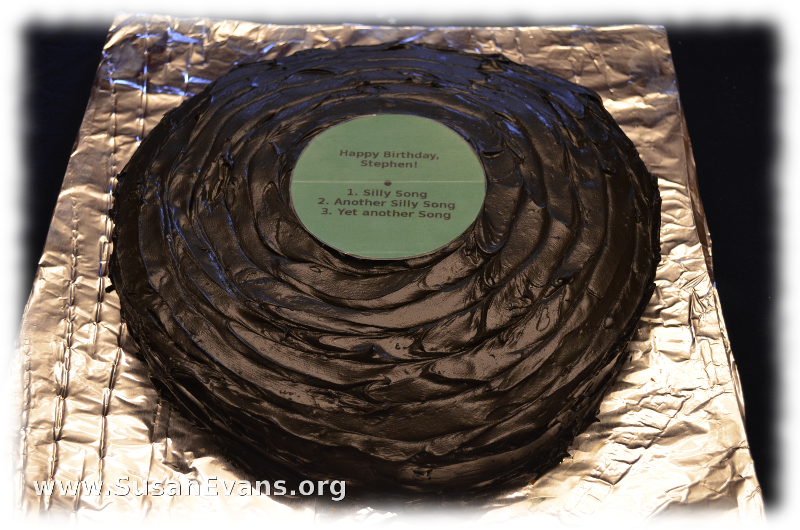 1970's-record-cake