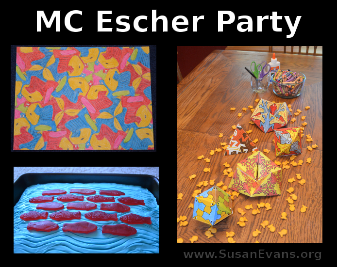 MC-Escher-Party