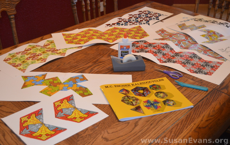 MC-Escher-shapes
