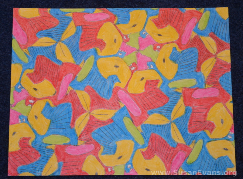 MC-Escher-tesselations