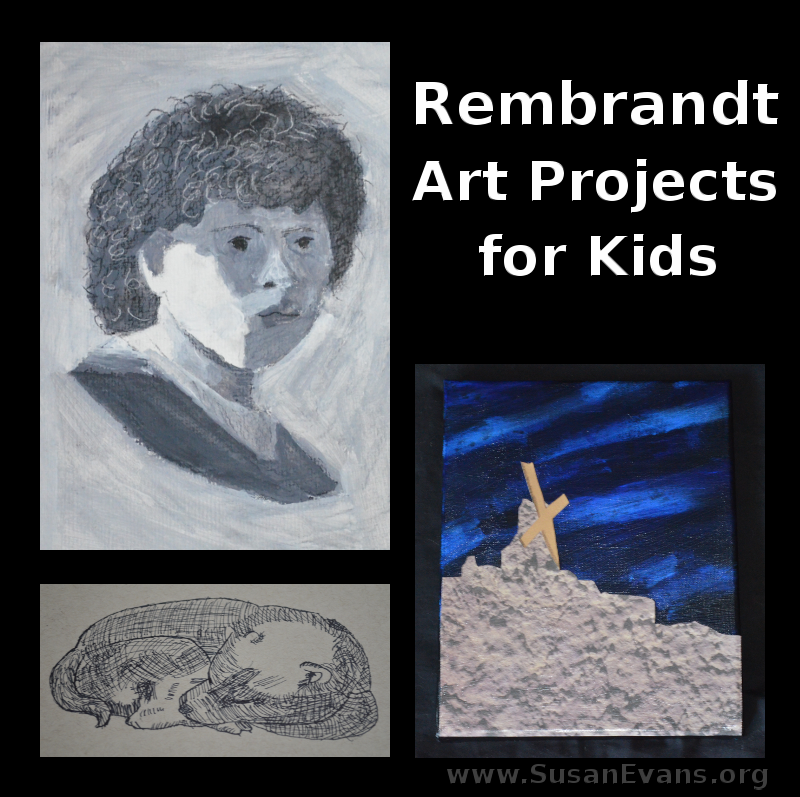 Rembrandt-art-projects-for-kids