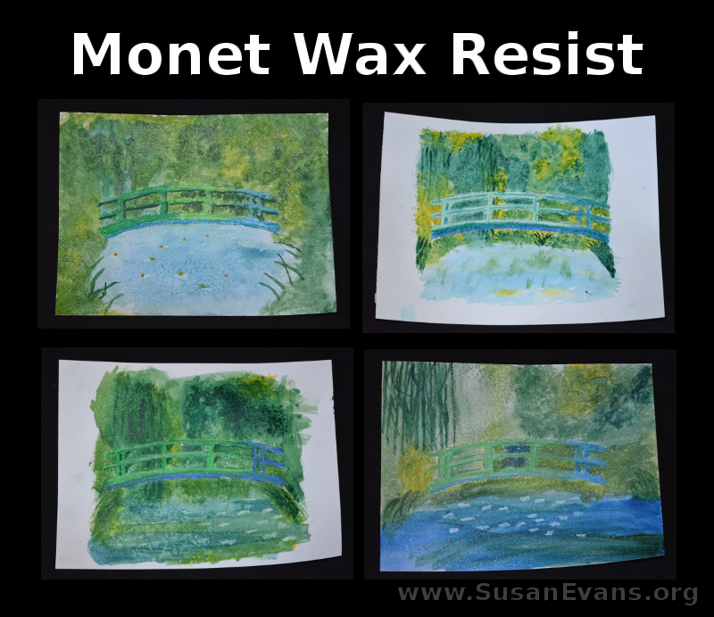 monet-wax-resist