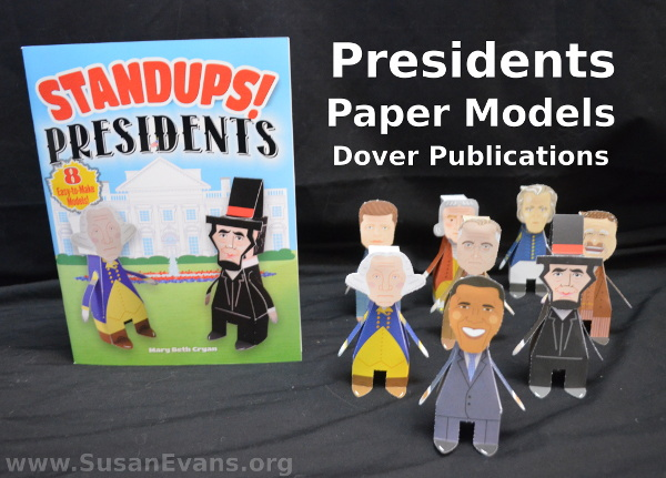 presidents-paper-models