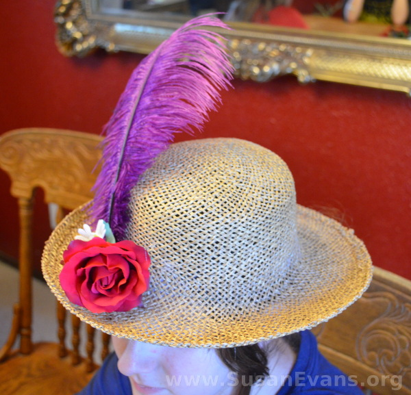 decorate-hat-with-feather
