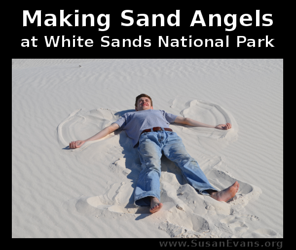 making-sand-angels