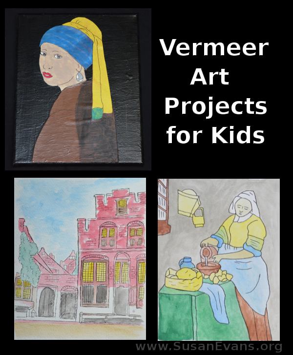 vermeer-art-projects-for-kids