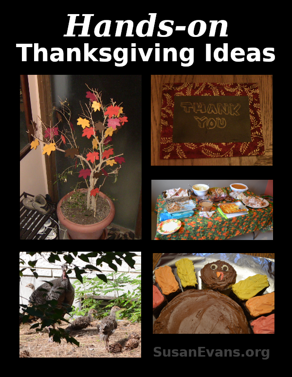 Hands-on Thanksgiving Ideas